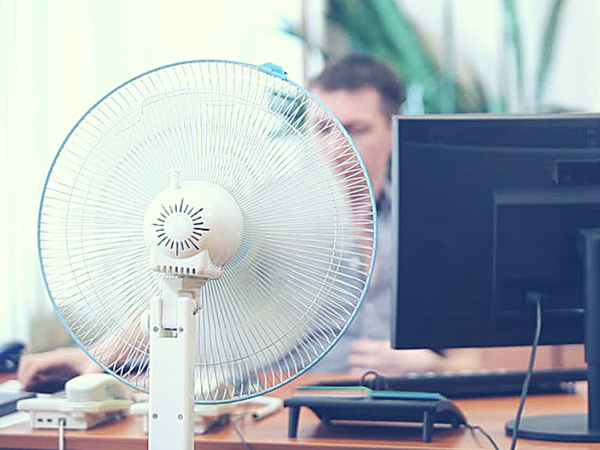 Office working in this year's record temperatures – how to handle the heatwave